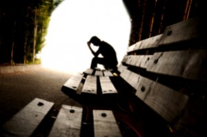 Depression, teen depression, tunnel, young